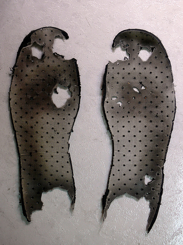 Tipos de plantillas para calzado
