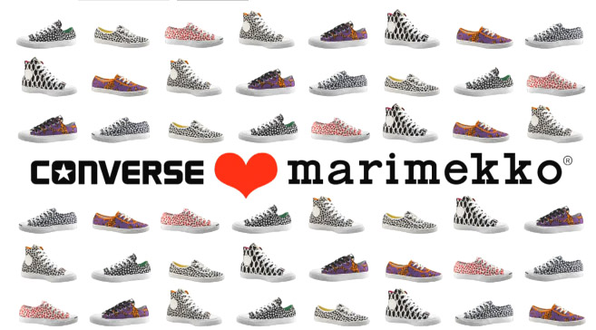 CONVERSE LOVE MARIMEKKO
