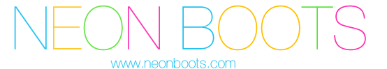 Logo Neon Boots