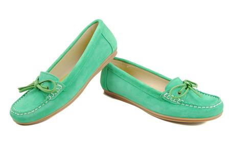 Verde Menta zapato