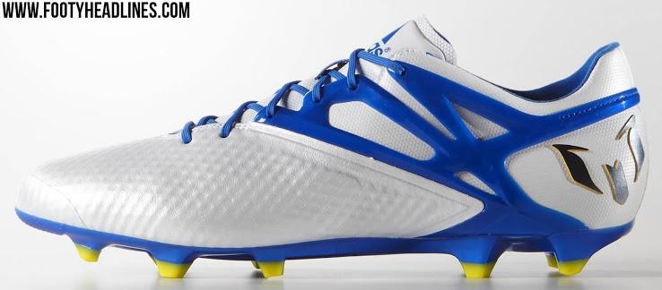 Zapatos blancos Lionel Messi Adidas para hombre OpRZbfGPz