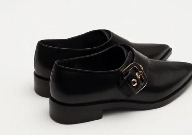 Zara zapatos clásicos planos mujer