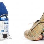 Colección de zapatos de mujer inspirados en Star Wars