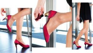 Los zapatos con tacón de quita y pon que triunfan en medio mundo