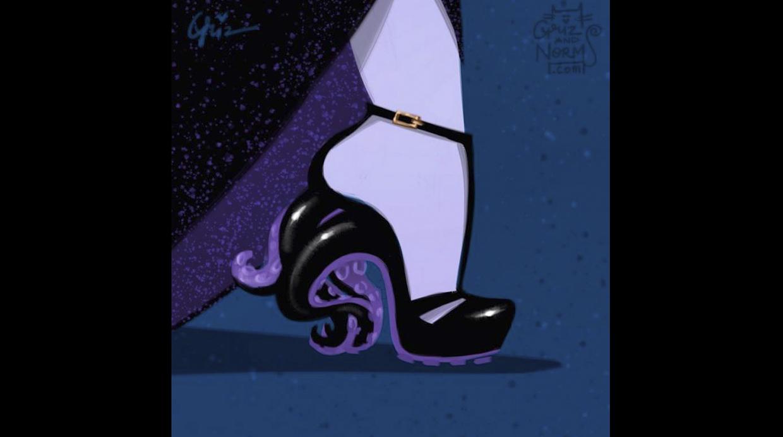 Úrsula, de La Sirenita - Alexander McQueen