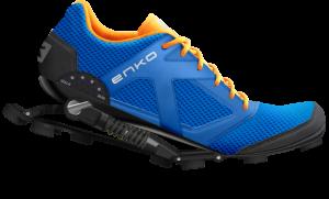 Ya disponibles las zapatillas Enko, con amortiguadores para runners