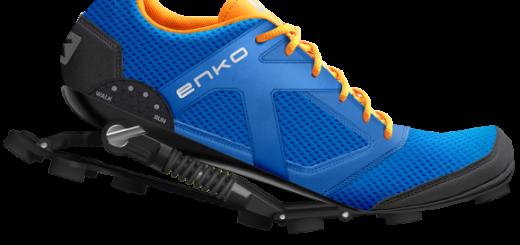 Enko, zapatillas para runners con amortiguadores